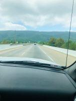 mountain spacious clouds